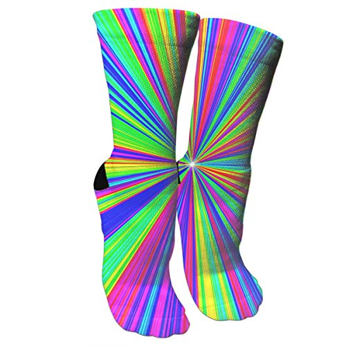 New Divergent Colored Stripes Athletic Tube Stockings Women's Men's Classics Knee High Socks Sport Long Sock One - Divergent Supplies Party Birthday