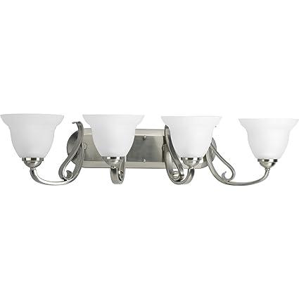 amazon com progress lighting p2884 09 4 light torino bath bracket
