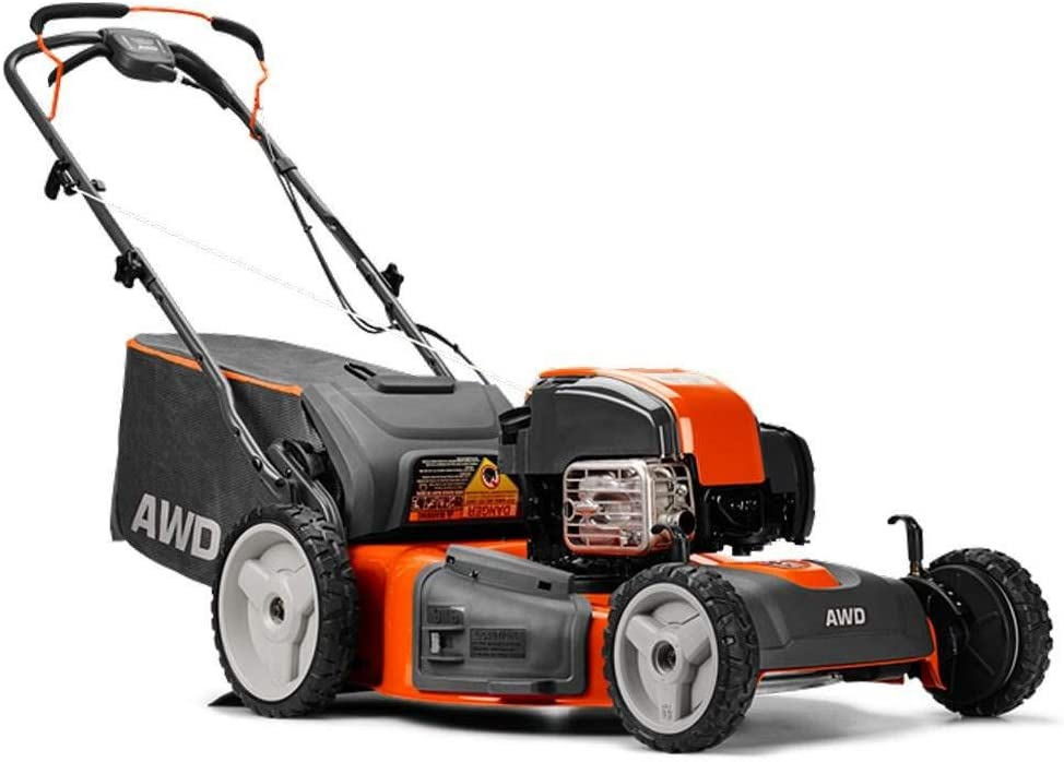 Husqvarna 22 Self Propelled 3-in-1 Gas Lawn Mower with Briggs Stratton Engine