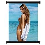 Bar Refaeli Sexy Hot Model Fabric Wall Scroll Poster (16