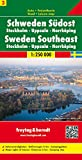 Stockholm and South Eastern Sweden (Road Maps)