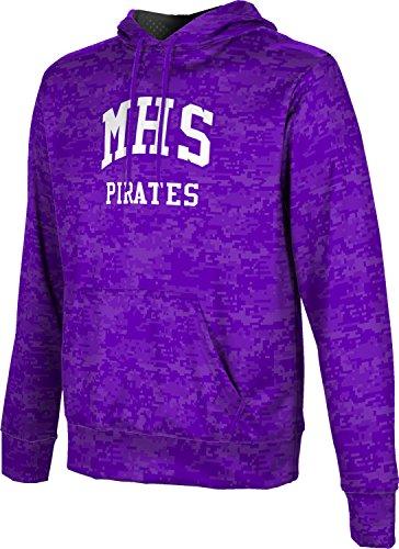 ProSphere Men's Merrillville High School Digital Hoodie Sweatshirt - Indiana Dress Merrillville In Shops