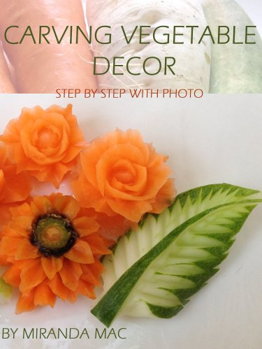 (Carving Vegetable Decor ( Full Photo Step By Step Is Easy ))