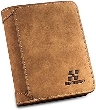 HENGSHENG Brown Leather For Men - Card & ID Cases price in UAE | Amazon UAE  | kanbkam