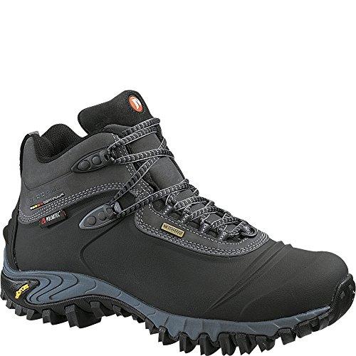 (Merrell Chameleon Thermo 6 Waterproof Synthetic Men 8.5 Black)