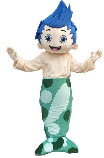 Adult Size Bubble Guppies Gil suit mascot costume fancy party dress  sc 1 st  Amazon.ca & Adult Size Bubble Guppies Gil suit mascot costume fancy party dress ...