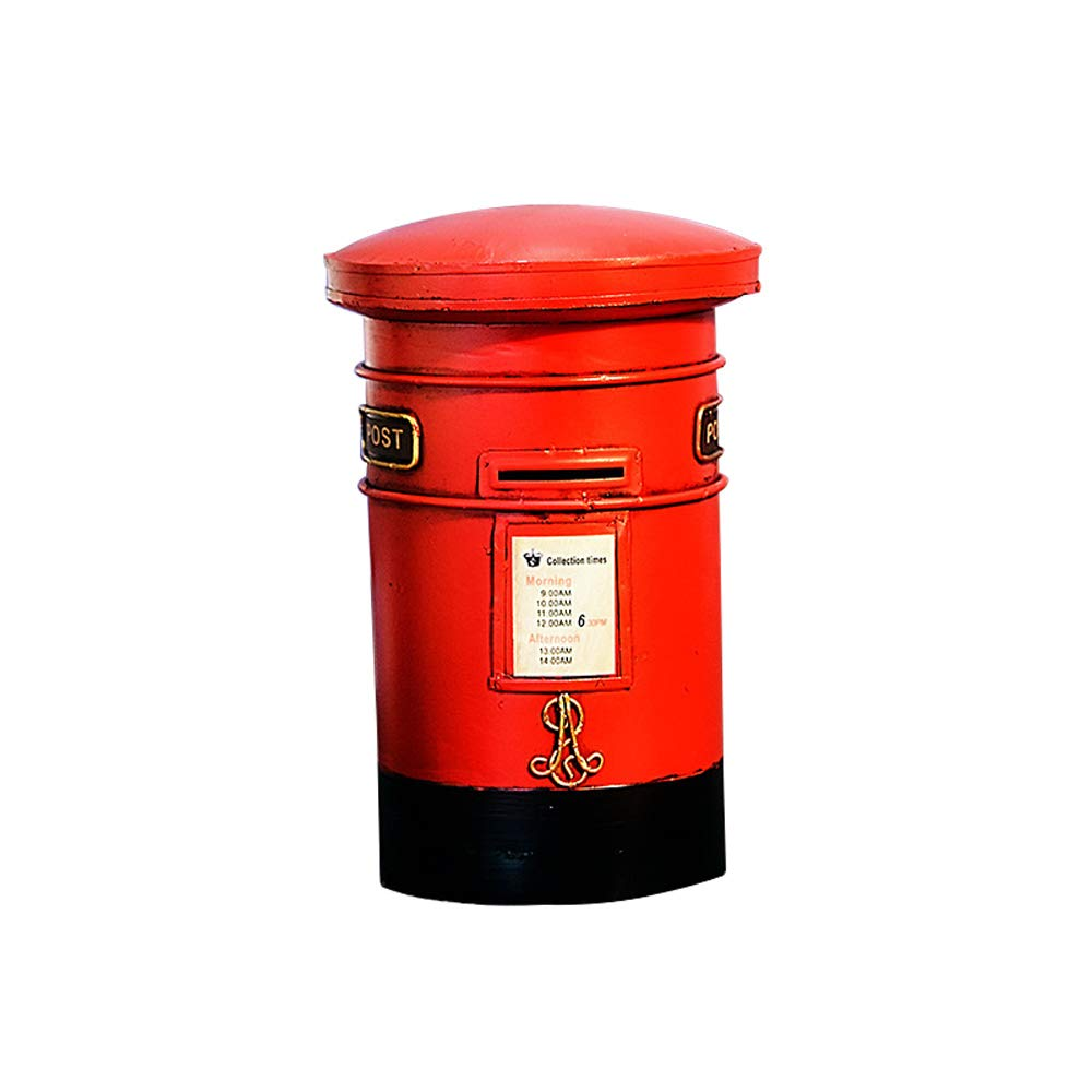 ADbox Resinic Piggy Bank Coin Storage, Money Box Mailbox Gifts for Children Friends, Also Ornaments for Room Decorations by ADbox