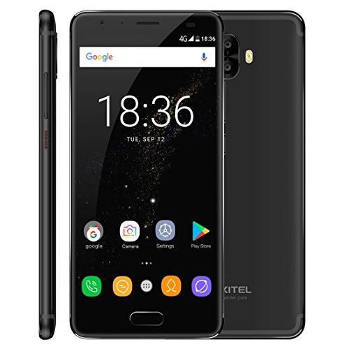 OUKITEL K5000 4GB+64GB 5.7 inch 2.5D Android 7.0 MTK6750T Octa Core up to 1.5GHz WCDMA & GSM & FDD-LTE (Black)