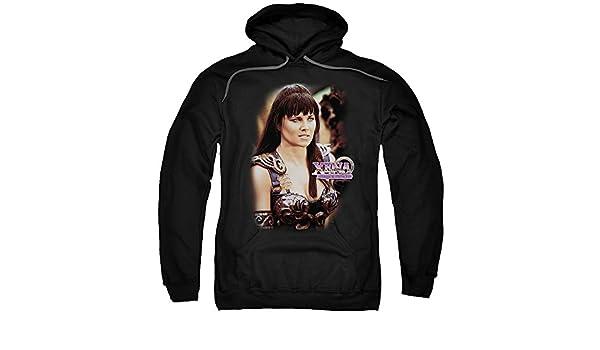 Xena the Warrior Princess Cut Up Adult Crewneck Sweatshirt