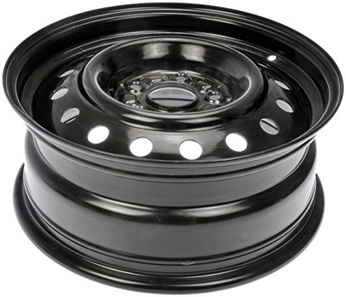Dorman Steel Wheel with Black Painted Finish (16×6.5″/5x115mm)