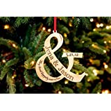 Personalized Christmas Ornament- Ampersand