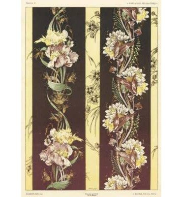 Read Online Art Nouveau Design Fantasies in Full Color (Dover Pictorial Archives) (Paperback) - Common PDF