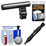 Sony ECM-GZ1M Shotgun / Zoom Microphone with LCD + Cleaning Kit