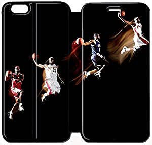 Fashion Style lebron james lion king Phone case Thin Slim Flip Leather Case Cover For iPhone 6 plus 5.5 inch OOL2973188