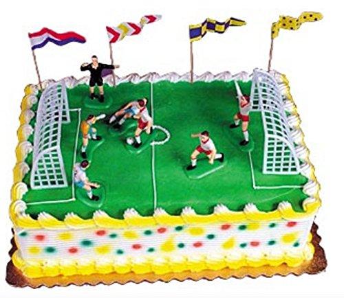 (Cake Decorating Kit CupCake Decorating Kit Sports Toys (Soccer Match Kit))