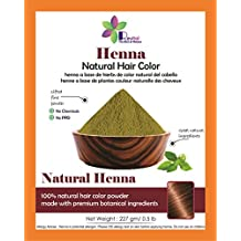 Revital - 100% Pure & Natural Henna Powder For Hair Dye / Color (0.5 lb), Henna Powder For Tattoo, Henna Paste Body Art, Hair Color, Organically Grown, Chemicals Free Hair Color
