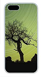 iPhone 5 5S Case Landscapes Tree PC Custom iPhone 5 5S Case Cover White