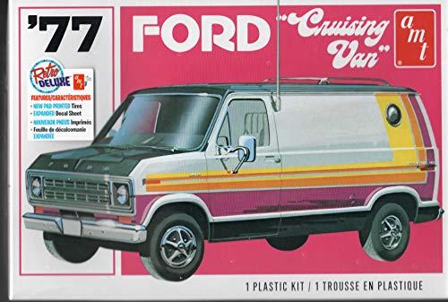 Models Ford Van - AMT 1108 1977 Ford Cruising Van Unassembled Model Kit