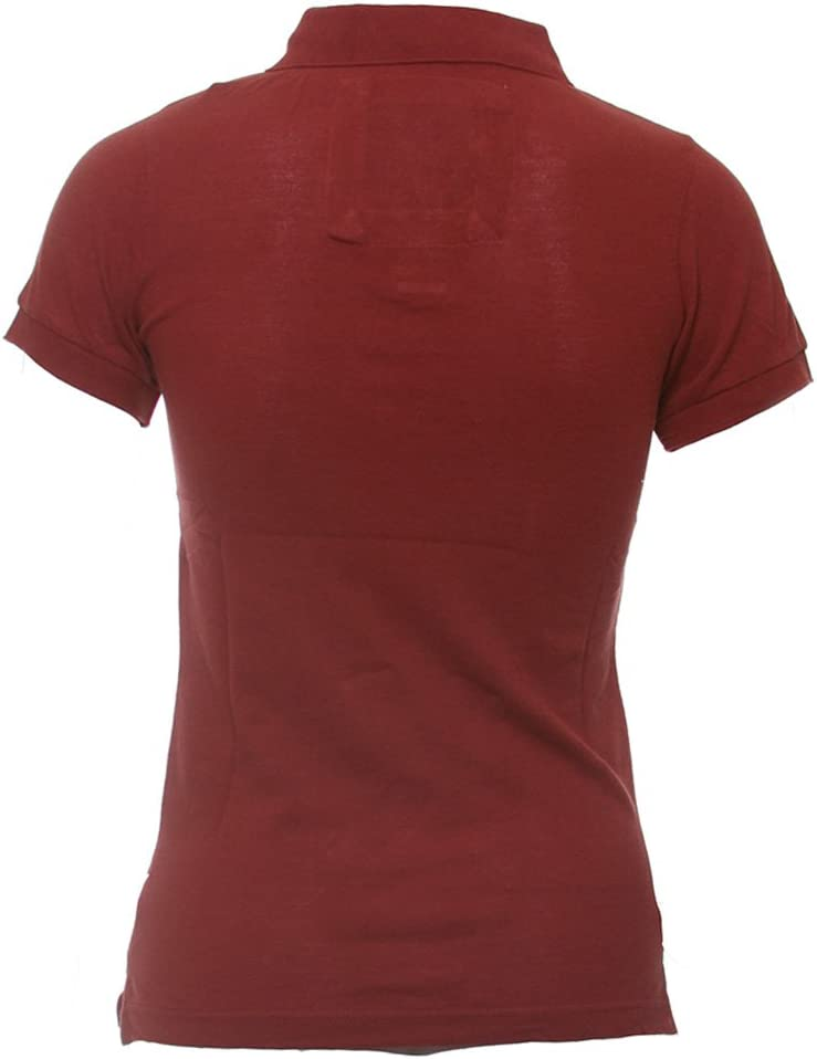 Abercrombie y Fitch 51659570 RED Mujer Polo Talla:small: Amazon.es ...