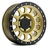 "Method Race Wheels 315 Custom Wheel - 18"" x 9"", 18, 8x170 Bolt Pattern, 130.81mm Hub - Gold with Matte Black Lip, Rim"