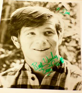 Eric Scott - Signed 8x10 B&W Photo - Star of The Waltons - Inscribed - Collectible
