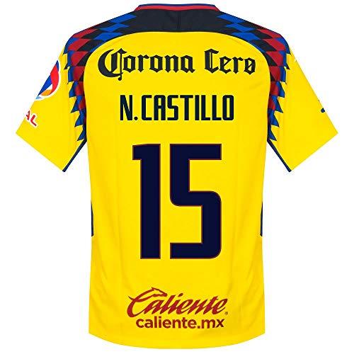 47d1e667e Nike Club America 3rd Castillo 15 Jersey 2018 2019 (Fan Style Printing) - XL