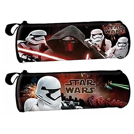Star Wars Estuche portatodo cilindrico: Amazon.es: Juguetes ...