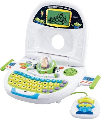 VTECH 80-110304 - El Buzz Lightyear aprendizaje ordenador portátil [importado de Alemania]: Amazon.es: Juguetes y juegos