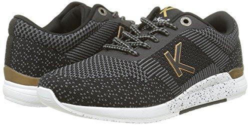 Knitwear Noir Damen Or Kickers Sneaker Noir Y58ntqx