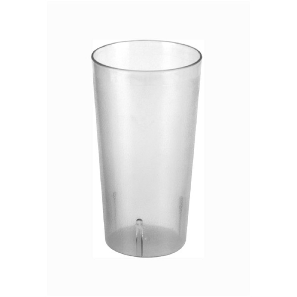 SET OF 12 CUPS 32 OZ TALL TUMBLER, POLYCARBONATE CUP CLEAR UNBREAKABLE BAR SAFE DURABLE RELIABLE RESTAURANT DINER BAR GLASS