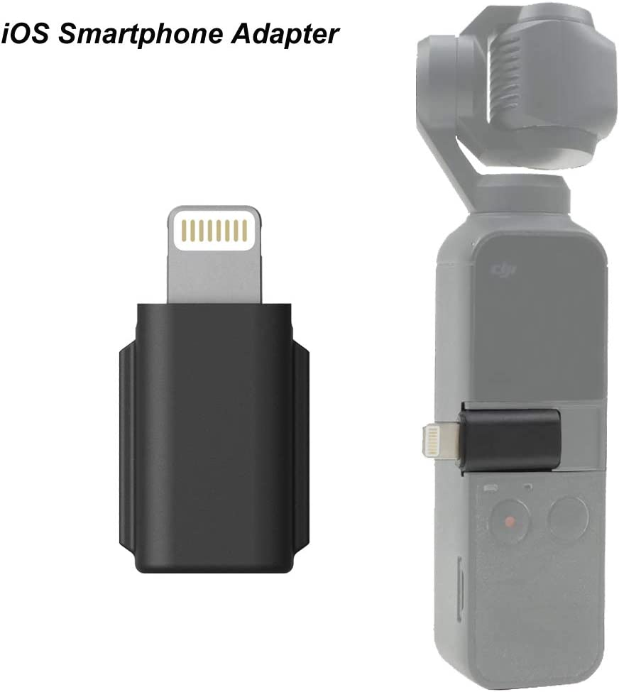 Tineer Adaptador Universal para Smartphone Transferencias de Conector iOS Compatible con dji OSMO Pocket Accesorios: Amazon.es: Electrónica