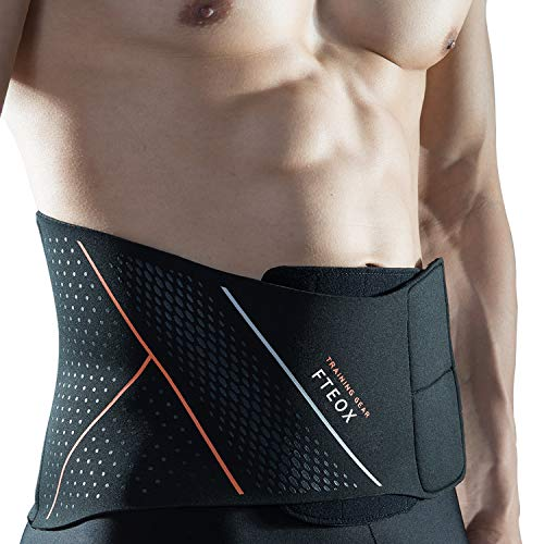 Waist Trimmer,Waist Trainer Premium Stomach Fat Burner Wrap Slimming Belt and Weight Loss Ab Belt for Women&Men with Sauna Effect