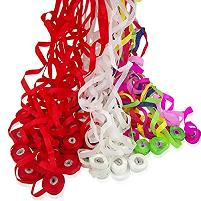 WSNMING 12 Pack Throw Streamers Spider Thread Magic Tricks Props Mentalism Illusion Throw Confetti for Magic Stage Show Party Birthday Wedding (Multicolored): Toys & Games
