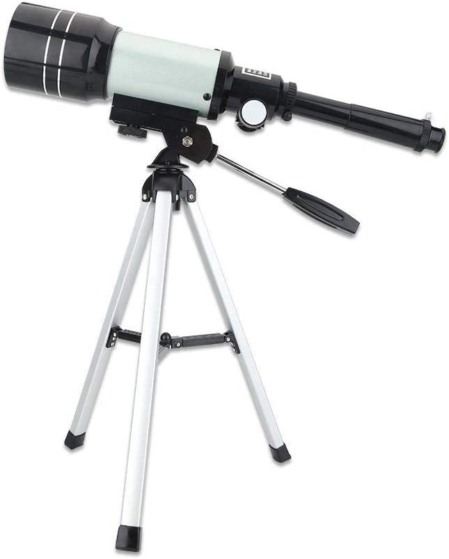 150 Maximum Magnification 300mm.f//4 Focal Length 3X Barlow Ocular Portable Professional Monocular Space Astronomical Telescope for Kid Astronomical Telescope with Tripod for Kid