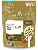 Navitas Organics Cashew Whole Nuts, 8 oz. Bag — Organic, Low Temp Dried, Non-GMO, Gluten-Free