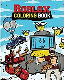 Roblox Coloring Book Roblox Books Kid Robloxia 9781719972871