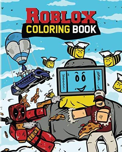 Roblox Coloring Book Roblox Books Kid Robloxia 9781719972871