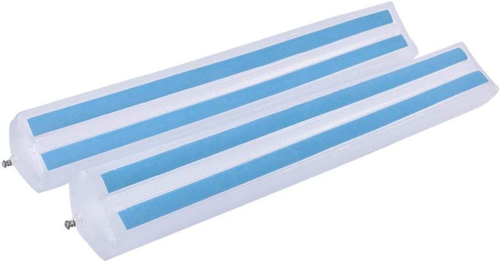 emp/êchent le glissement facile dinsta s/écurit/é antid/érapante gonflable de s/écurit/é de r/ésistant /à leau des enfants en bas /âge Guardrai avec fort et durable Pare-chocs de rails de lit de 2PCS