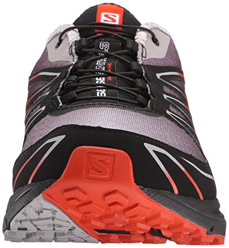 Salomon Men's Sense Mantra 3 Trail Running Shoe Aluminium/Black/Solar Orange cheap visa payment HH2vO3