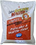 Carbon's Golden Malted Pancake and Waffle Flour Mix - 80 Ounce Bag - Complete Mix
