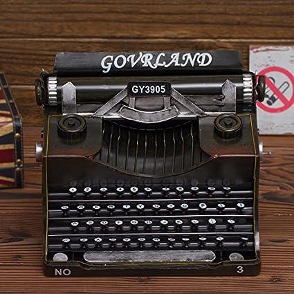 Máquinas de escribir antiguas rural americano escaparate fotografía muebles props cafés internet ornamentos