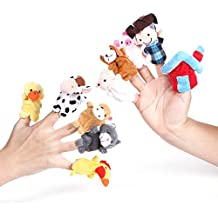 "Foto4easy Story Telling ""Old Macdonald Had a Farm"" Finger Puppets Nursery Rhyme Toys (10 pcs)"