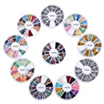 10 Wheels Premium Manicure Nail Art D...