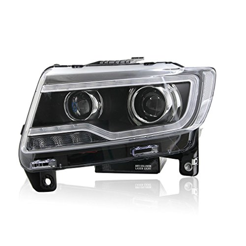 win power 2011 2013 jeep compass grand cherokee headlight assembly replacement kit with. Black Bedroom Furniture Sets. Home Design Ideas