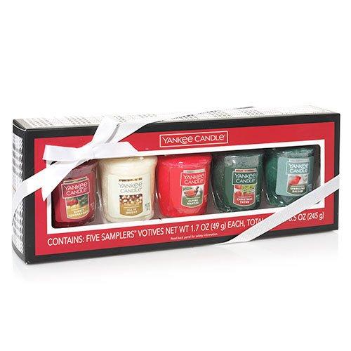 Yankee Candle New Holiday Fragrances Samplers Votive Set Gift ()
