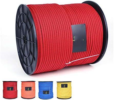 ロープ、6mm ホーム火災避難救助ヘビーデューティロープジム補助登山ロープ安全懸垂下降ロープ,c,20m