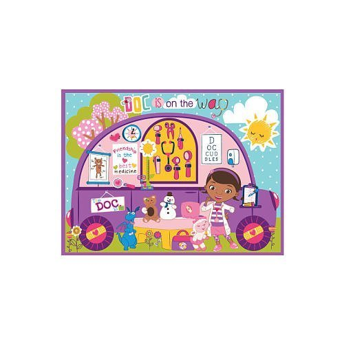 Disney Doc McStuffins Mobile Clinic Game Rug