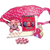 Pink Ribbon Bunco Game Kit - Bunco for Breast Cancer Game Kit - Assorted Fanny Pack Color