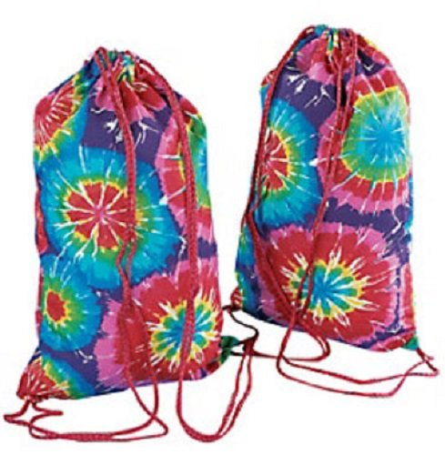 (Polyester Tie-Dyed Backpacks - 12)