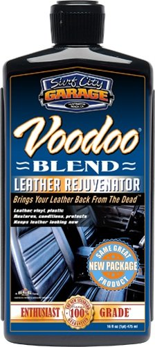 Surf City Garage 133 Voodoo Blend Leather Rejuvenator - Restores & Conditions - Auto Interiors, Shoes, Jackets, Gloves, and Accessories - Made In USA ()